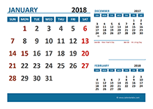 2018 calendar with indian holidays pdf free download